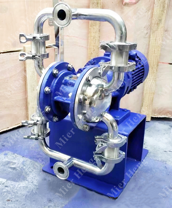 DBW food grade stainless steel high viscosity liquid transfer diaphragm pump