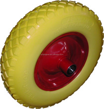 High quality utility puncture Proof wheelbarrow utility PU solid tyre