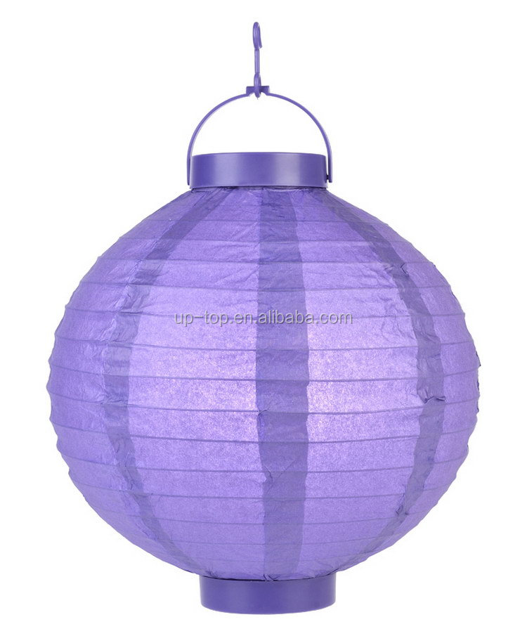 Top grade best-selling paper led christmas snow lantern