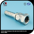 carbon steel rubber hose barb fittings.