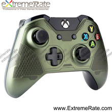 2017 New design camouflage green for xbox one wireless controller front shell