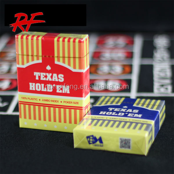 plastic playing cards, plastic poker cards with professional quality and service