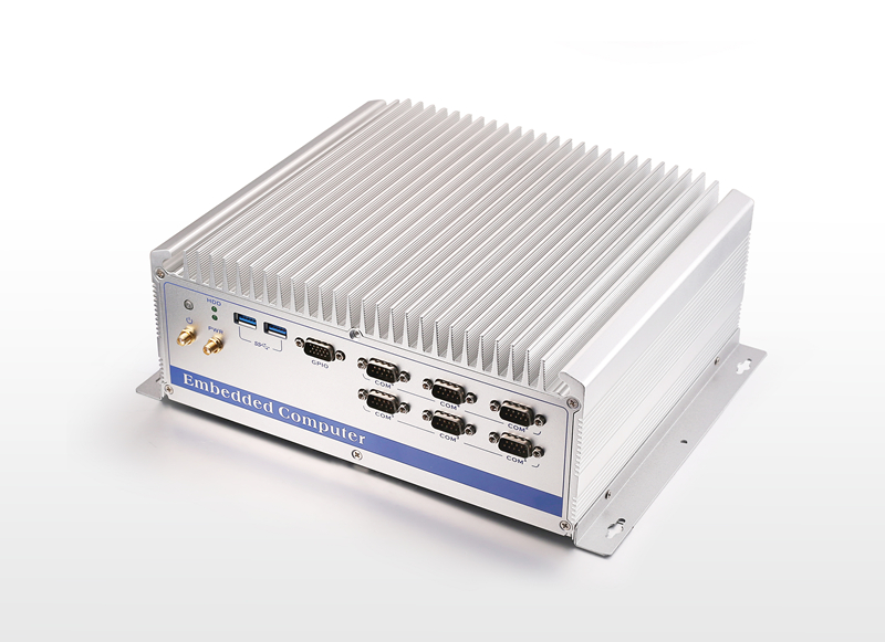 China high quality wholesale industrial BOX pc with compacting fanless design,WIFI(optional)