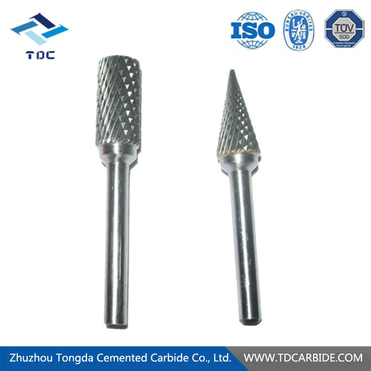 Customizable tungsten carbide files for dental hand tool
