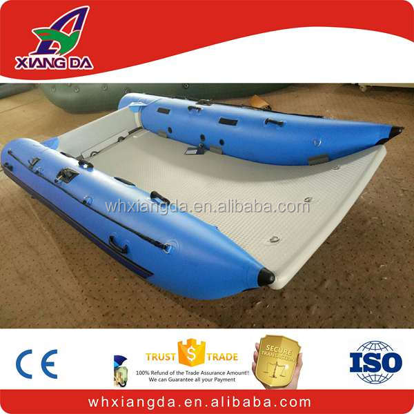 Inflatable catamaran boats thunder cat inflatable boat for sale