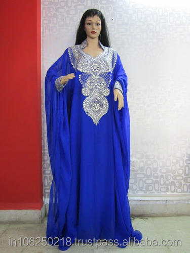 beaded kaftan dress cheap beautiful colorful arabic kaftan newest Abaya Jubah Hoodie Caftan Dress Maxi Jilbab Muslimah k1057