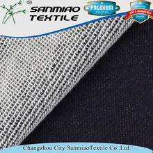 260g Changzhou indigo denim sweater kind wholesale fabric stores