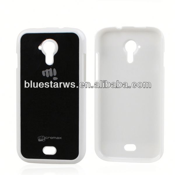 For micromax a116 best selling Phone Case For Micromax A116 Dual Color PC Case