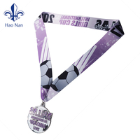 wholesale custom sport&award medals with ribbon