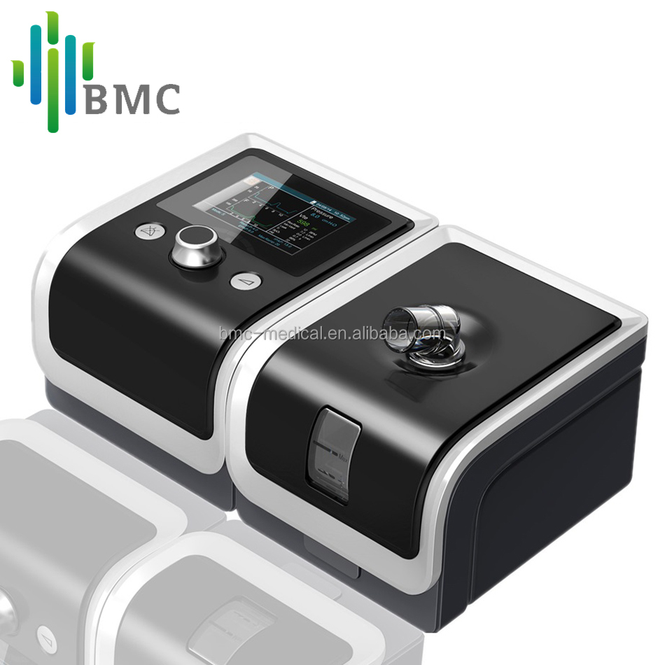 Automatic Positive Airway Pressure BMC GII BPAPT-25A With Auto Mode Bilevel CPAP Machine For Patient's COPD OSA dialysis machine