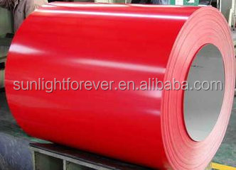 color cold rolled galvanized steel coil / prepainted carbon steel coil / ppgi