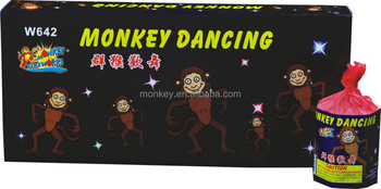 Monkey Dancing Wholesale Novelty Fireworks fountain