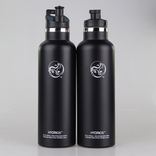 Double walled Insulated 304 Stainless Steel Vacuum Flask Sports Water Bottle