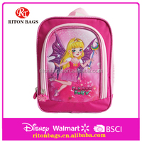 Creative design rainbow fairy pattern backpack for girls