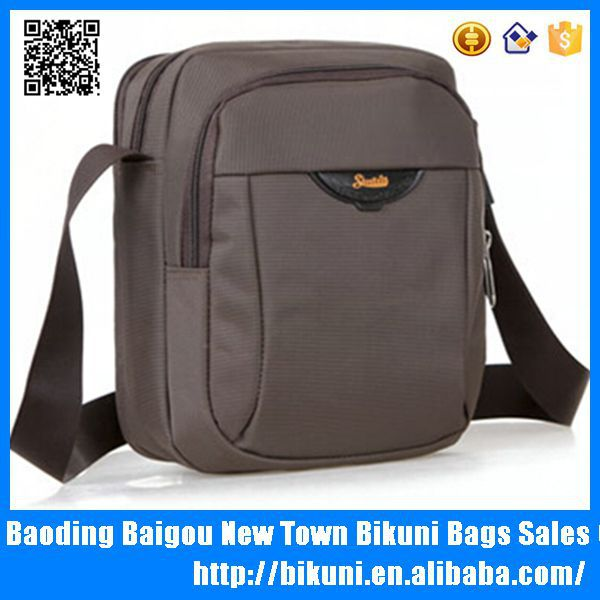 Cheap business style nylon messenger for men