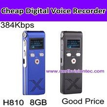 telephone recording digital voice recorder with 4GB memory