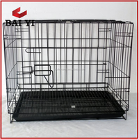 2016 best selling pvc coated folding pet cages for dogs