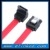 Right angle to straight 26AWG OD 5.5mm 6Gbps 5Packs SATA red cable