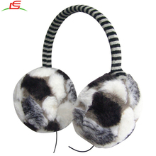 Hot selling plush warm music headphones ear muffs for winter