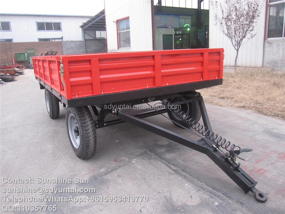 agricultural tractor dump trailer for farming use