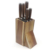 2020 Hot selling 5pcs wood handle stainless steel kitchen knife set with wood stand