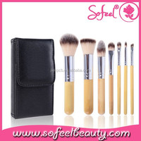 7 piece make up brush sets with quality makeup brush