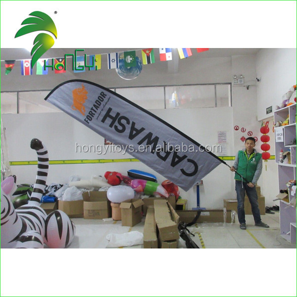 Promotion Feather Flag Flying Flags and Banners