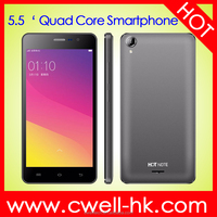 wholesale 5.5 inch MTK6580 Quad Core 3200mAh Big Battery 3G WCDMA android smartphone