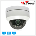 New Indoor Outdoor Color 1080P Camera Pan Tilt Middle Speen Dome PTZ with cover plate Easy to Install IP Camera Glasses