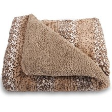 High Quantity Faux Fur Plush Throw Blanket Comforter