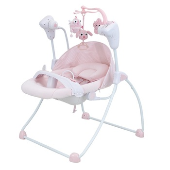 Baby swings automatic bouncer Seat Toddler Rocking Baby Infant Swing Portable Folding Comfort Quiet Bounce Support Sleep Chair