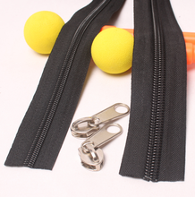 RISHUN Fashion reversed sports # 3 # 5 nylon zipper for garments accessories