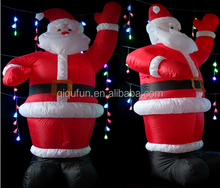 Party Outdoor inflatable christmas lights ,20ft christmas inflatable santa G2828