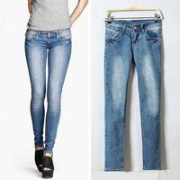 Wholesale Factory Price Ladies Fashion Jeans United States
