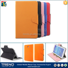 china supplier kickstand folding leather case for samsung tab 3