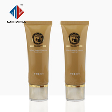Manufacture 30-50ML Cosmetic Plastic PE oval flat tube for packing BB cream sunscreen lotion shaving paste environment-friendly