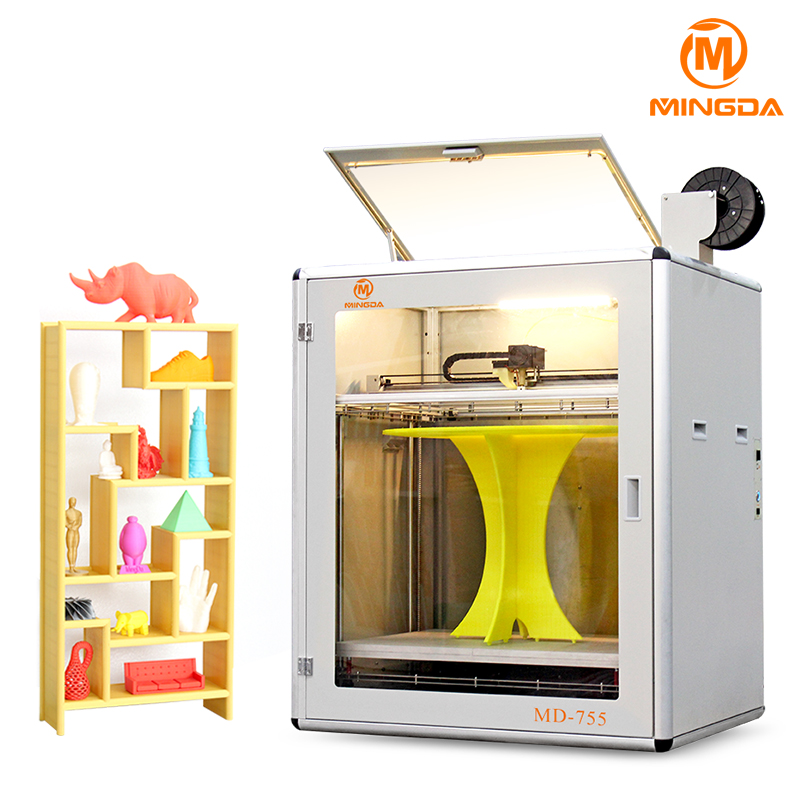Biggest size MD-755 700 * 500 * 500 mm 3d printing machine , professional OEM 3d printer for ABS car tyres