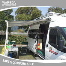 Retractable car awning full cassette used awnings for sale