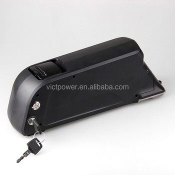 48v 12ah lithium ion battery pack for e-bike with QT battery
