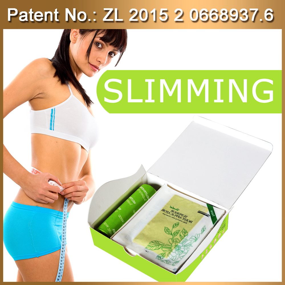New directions convenient weight loss product Complete Body Applicator Kit with botanical slimming soft gel for body slim