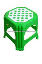 plastic small stool with assorted colours