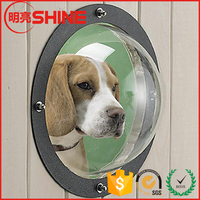"9.6"" 11.6"" Multi-purpose Acrylic Polycarbonate Dome Plastic Hemisphere To Make Fence Window for Dogs"