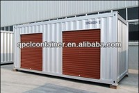20GP/20DC/20FT ISO1496 side open roller up door storage container