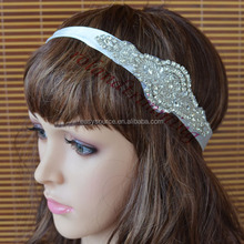 New fashion Handmade crystal bridal headband For Wedding
