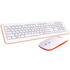 newest Shenzhen new design essentionally cheap mini slim multimedia wireless keyboard and mouse combo with CE certificate