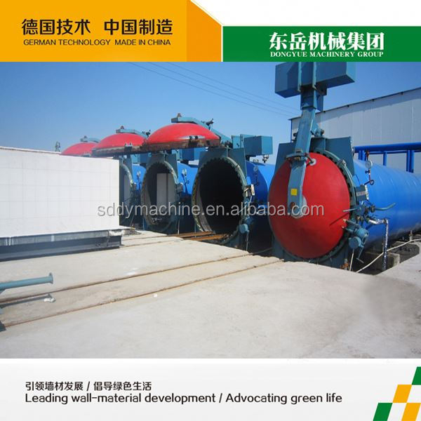 aac block making machine / aerated autoclaved concrete brick plant / aac producing line manufacturer