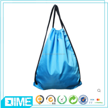 Fashion Design Printing Wholesale 210D Polyester Gym Sack Drawstring Bag