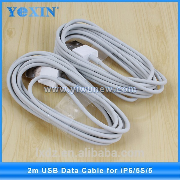 2M 4A 6feet 8pin Data Sync Charger USB cable for iPhone 6 /7 ipad4 ipad air micro USB cable perfect for ios9.3