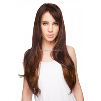 Women Sexy Fashion Long Curly Wavy Cosplay Wigs Natural High Quality Synthetic Wigs Female Halloween Party