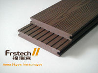 140x20mm solid recycled plastic lumber/wpc decking/floor for terrace